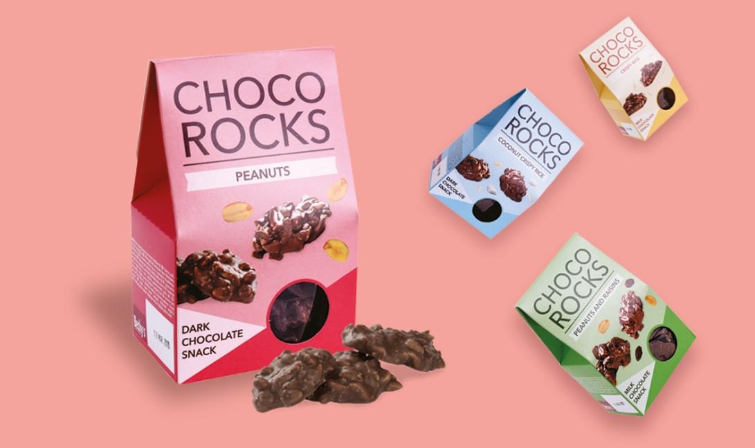 Choco rocks bewerkt